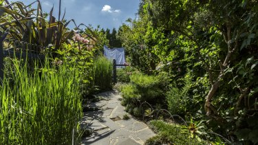 Sharon Harris' garden is an inspiration for those who want to make best use of their garden.