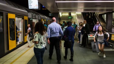 Town Hall station ranked 'highest in terms of fire risk' in 2016 on Sydney's underground rail network.