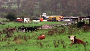 The Johndilo site at Camden which delivers coal seam gas to the AGL network.