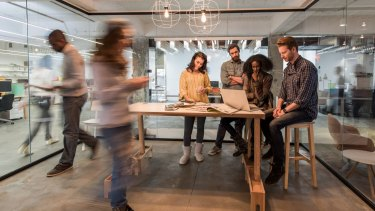 Workers of the future will still want access to shared office space so they can socialise, and brainstorm.