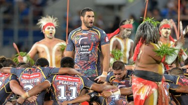 Inglis leads the way: There is a push for an indigenous war dance to represent NRL.