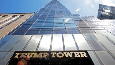 One of Donald Trump's properties in New York.