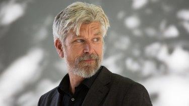 Karl Ove Knausgaard, Norwegian novelist.