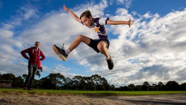 Zac lives in Brighton, one of Melbourne's healthiest suburbs for children.