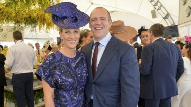 Zara Phillips and husband Mike Tindall were the talk of the Magic Millions race day.