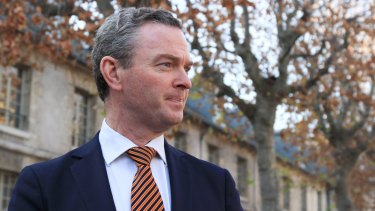 Avoided questions on whether a free vote should be revisited: Liberal leader of the House Christopher Pyne.