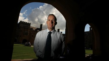 """Sydney University vice-chancellor Dr Michael Spence wants to ensure """"we are a place that is genuinely open to all""""."""