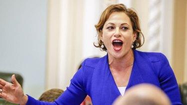 Queensland Deputy Premier Jackie Trad.