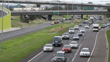 The Tulla: To be widened along its entire 24km length, from Southbank to Melbourne Airport.