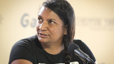 Nova Peris says she and her family are strong AFL supporters.