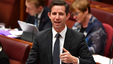 """Federal Education Minister Simon Birmingham says """"The Andrews Labor Government is showing contempt for students and taxpayers""""."""
