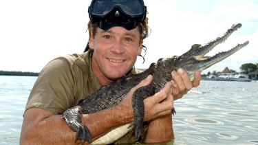 Role model: Crocodile Hunter Steve Irwin.