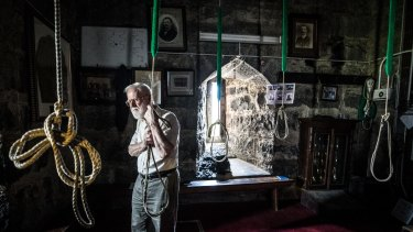 Still ringing them bells: Graeme Heyes, 83, who started in 1949, is among only a dwindling few dozen people who share volunteer bellringing duties at Melbourne's three cathedrals.