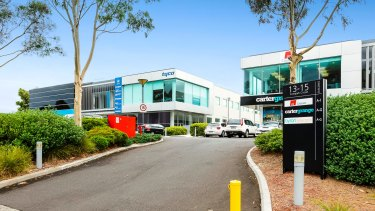 Suburban offices at 13 and15 Compark Circuit in Mulgrave in the Compark Business Park.