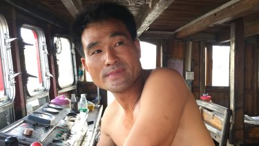 Zhou, 40, has been fishing for 20 years in the South China Sea and is preparing to sail to the Spratly Islands again.