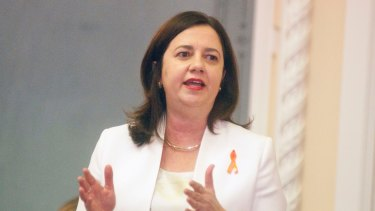 Premier Annastacia Palaszczuk has called for domestic violence leave to be adopted across Australia.