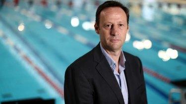 Move welcome: Swimming Australia chief executive Mark Anderson.