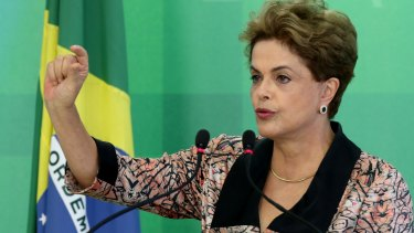 Brazilian President Dilma Rousseff is accused by impeachment supporters of violating Brazil's fiscal laws to shore up public support amid a flagging economy. She has denounced it as a coup against democracy.