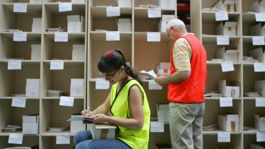 Australia Post is expected to deliver more than a million postal votes for this election.
