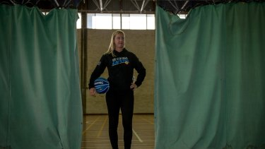 Canberra Capitals recruit Rachel Jarry.