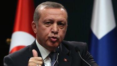 Turkish President Erdogan said the nation had no intention of escalating this incident.