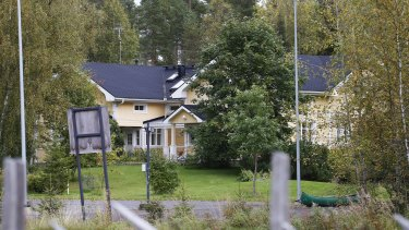 Juha Sipila's house in Kempele, Finland. Mr Sipila is hoping to set an example for his countrymen by opening his own spare house to refugees.