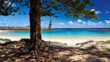 About 1500 people live on Norfolk Island, 1400 kilometres east of Australia.