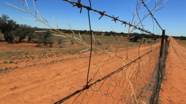 The dingo fence is the longest fence in the world at 5614km.