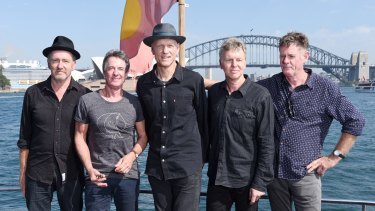 Midnight Oil announce a new tour after 15 years, partially provoked by the political climate.