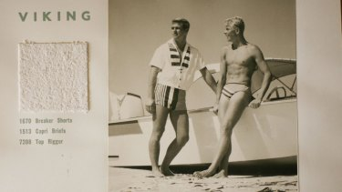 Peter Travis Designer Of Speedos An Arresting Sight On Bondi Beach