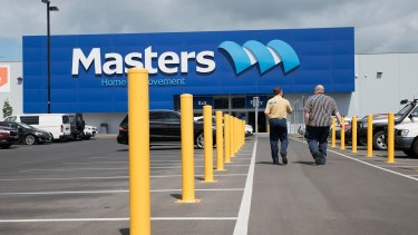 Woolworths' US partner Lowe's has written down the value of its stake in Masters by $US530 million.