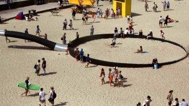 Motorists are being advised to avoid Bondi Beach.