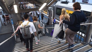 St Peters Station has been left off the map for the government's new metro line.