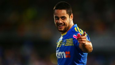 Here's looking at you: Will Jarryd Hayne soon be back in a Parramatta jersey?