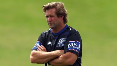 Happy in New Zealand: Bulldogs coach Des Hasler.
