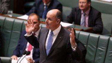 Human Services Minister Stuart Robert is under fire over a secretive China trip.