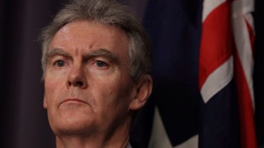 ASIO head Duncan Lewis says a streamlining of the process 'would be most desirable'.