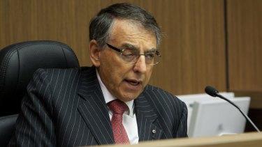 Former commissioner criticises prosecutors: ICAC chief David Ipp.