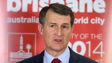 Lord Mayor Graham Quirk says it's 'bizarre' Milton Dick and Helen Abrahams are staying on in their leadership roles.