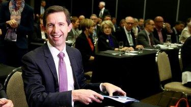 "Education Minister Simon Birmingham says universities have been receiving ""rivers of gold"" from the taxpayer over recent years"