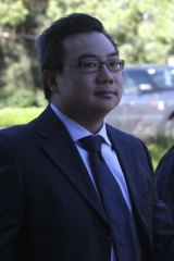 Dr Ong Ming Tan at an early court appearance.