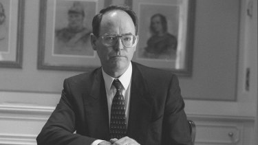 Don Brash, pictured in 2007, the Reserve Bank of New Zealand governor who ushered in inflation targeting.