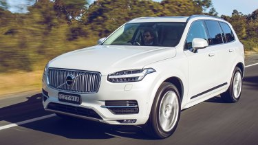 The next model of the Volvo XC90 will include an all-electric version.
