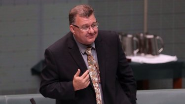 "Liberal MP Craig Kelly handed out flyers containing his wish ""to contribute to a Coalition government under Tony Abbott:."