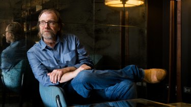 """George Saunders has a """"neurotic worry"""" about the blank page waiting for him."""