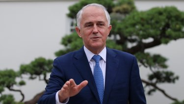 PM Malcolm Turnbull during the G20 summit in China.