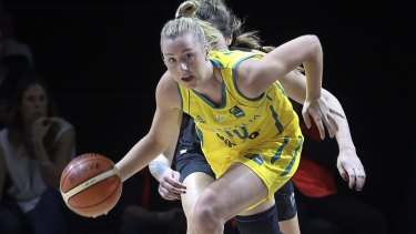 Atlanta-bound: Rachel Jarry has stitched up a new WNBA deal