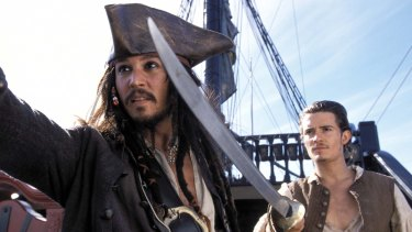 The Pirates of the Caribbean films earned Depp much of his fortune.
