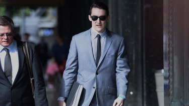 Matthew Forti at the Downing Centre District Court last year.