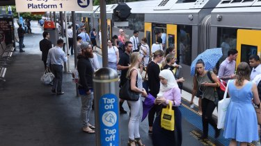 Fewer trains on the Bankstown Line will stop at St Peters during peak hours.